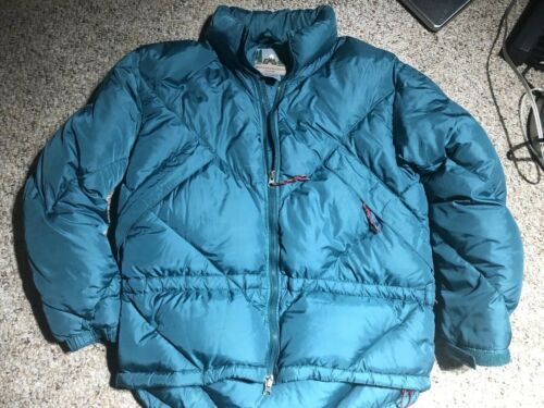 Puffer Sports Ski Kvinder Down Jacket Eastern Mountain Goose Teal Blue 8 Størrelse qIO5OHA