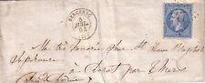 DORDOGNE - BERGERAC - LE 8 JUILLET 1864 - N°22 OBLITERATION GC447.