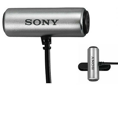 SONY ECM-CS3 Condenser Microphone Business Microphone Tie-clip ECMCS3