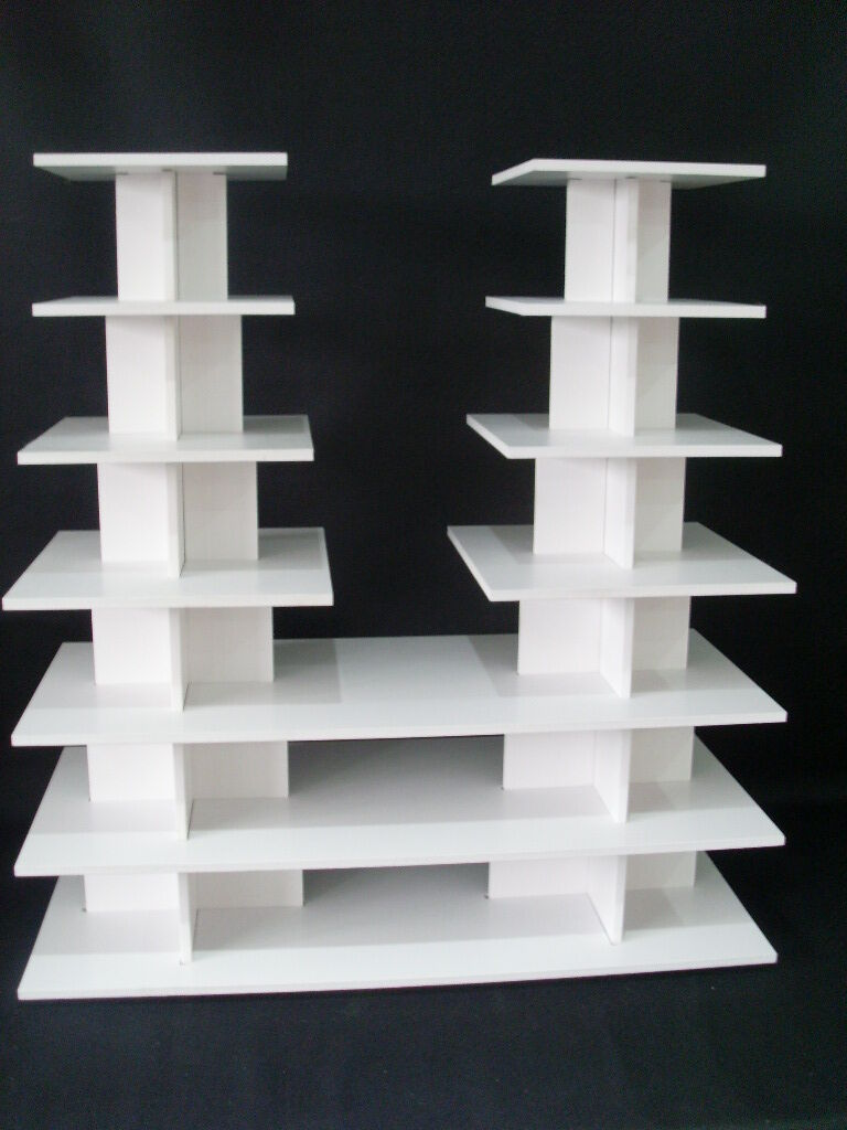 8mm 8mm 8mm forte Nozze Compleanno Bianco CUP CAKE CUPCAKE STAND 7 Tier SHOP display7 699922