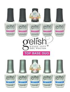 GELISH-Harmony-Soak-Off-Gel-Polish-Top-and-Base-Duo-Total-5-PAIRS-Best-Deal