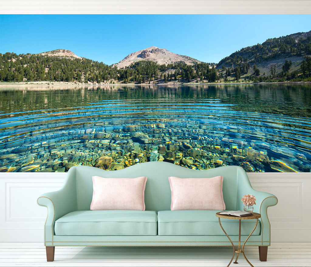 3D Clear lake 2233 Wall Paper Print Wall Decal Deco Indoor Wall Murals