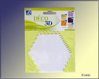 3d deco malspachtel f r strukturen und muster malmesser f r acrylfarben ebay. Black Bedroom Furniture Sets. Home Design Ideas
