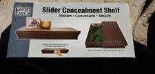 Covert Cabinets GS-24 Tactical Hidden Gun Storage Wall Cabinet Shelf, Espresso