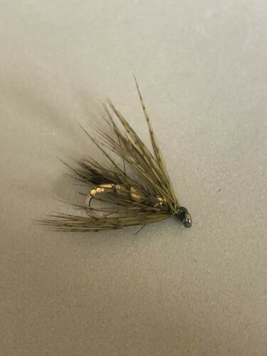 March Brown variant. Choice of brown or olive Size 12 hook pack of 3