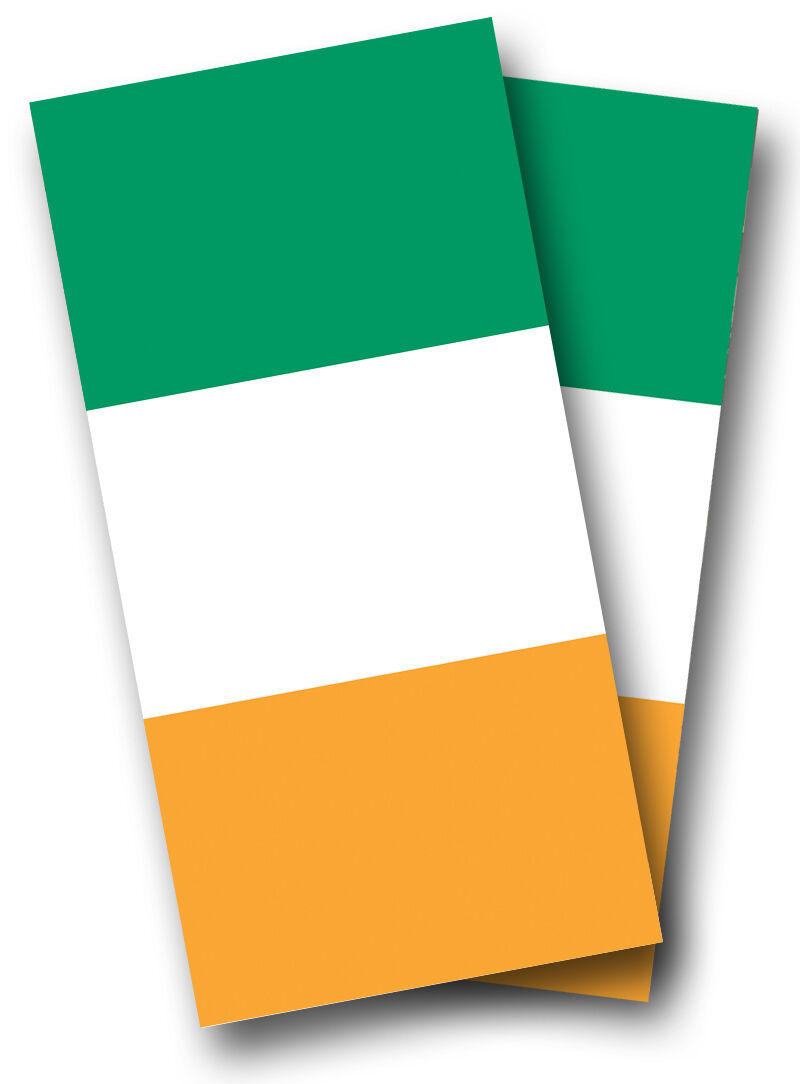 IRISH Flag CORNHOLE WRAPS BOARDS SET Bean Bag Toss + 8 ACA Regulation Bags