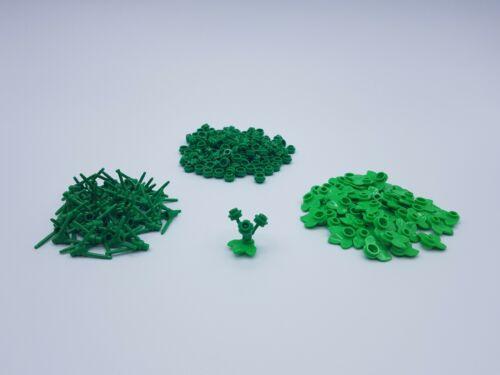 150 FLEURS DARK GREEN 50 NÉNUPHARS LEGO LOT 50 PLANTES 3 TIGES REF 24855