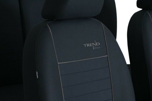VOLKSWAGEN POLO BLUEMOTION Mk5 2009-2017 FABRIC TAILORED SEAT COVERS