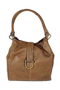 Image Is Loading Shoulder Bag Handbags Women S Cork Natural Made