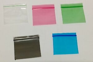 Image Is Loading 100 Small Plastic Bags Self Seal Resealable Clear