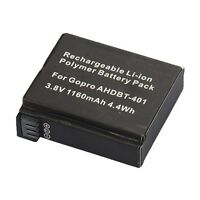 Aftermarket Rechargeable Replacement Battery For Gopro Hd 4