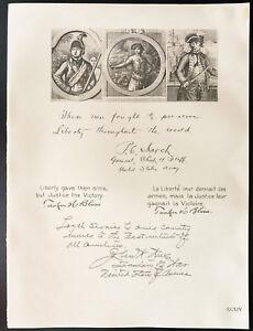 1926-Litografia-citacion-Gen-Marzo-Gen-H-Bliss-M-J-W-Semanas