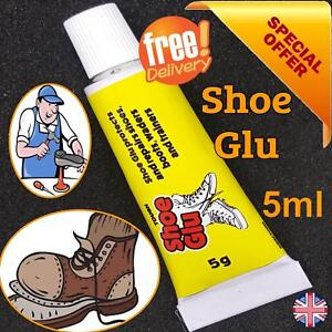 SHOE-GOO-SHOE-GLUE-GLU-5g-MEND-REPAIR-TRAINER-BOOT-HEELS-SOLES-LEATHER-HOLES-DIY