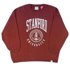 Details zu Stanford University Logo Official Pull & Bear Womens Oversized Sweatshirt
