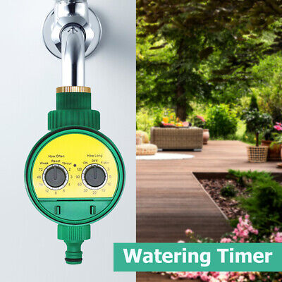Digital Automatisch Bewässerung Timer DIY Garten Zeitschaltuhr Bewässerungset☜