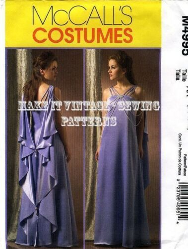 MCCALL/'s 4995 PADME Star Wars Evening Wedding Costume sewing pattern 14-20 EE