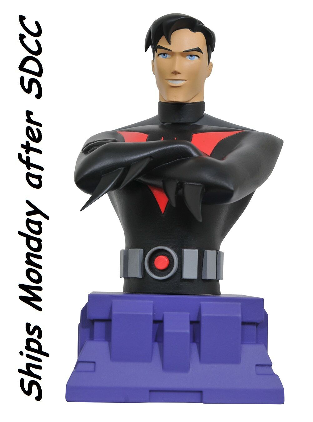 2017 SDCC - Batman Beyond Animated Unmasked Resin Bust Exclusives