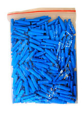 100 pcs Super B Gel Filled Connectors Alarm Wire Crimp CCTV Beanies Bean Blue