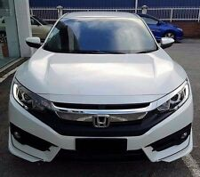 honda civic FC  2016 front + rear  aero body kit lip  painted