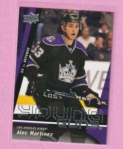 2009-Upper-Deck-Series-1-Alec-Martinez-Young-Guns