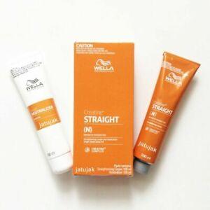 Details about Wella Wellastrate Mild Hair Straightener hair straightening cream .