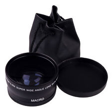 Latest 58mm 0.45X Wide Angle Macro Lens For Canon EOS 450D 500D 550D 600D 1100D