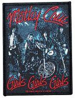 Motley Crue girls... Album Cover Art Metal Band Music Sew On Applique Patch