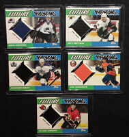 HOCKEY CARDS  - ROOKIE JERSEY CARDS