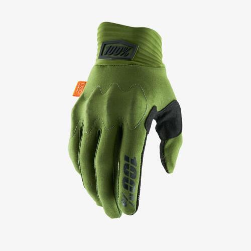 100/% Cognito Men/'s Full Finger Glove Army Green//Black MD