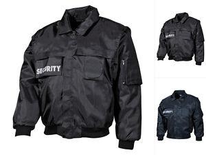 MFH-Blouson-Security-Jacke-Securityjacke-Bluson-Weste-Einsatzjacke-S-4XL