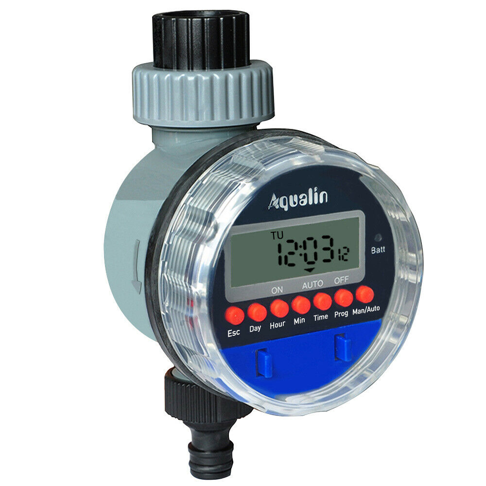 Automatic LCD Watering Timer Electronic Ball Valve Irrigation Controller Water
