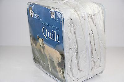 Living At Home 500GSM Winter Weight Australian Merino Wool Quilt Doona Duvet