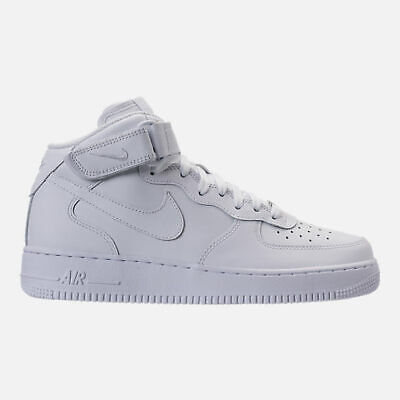 Details about Nike Air Force 1 All Triple White High Top Mens Sneakers 315123 111 Size 8.5