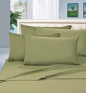 Elegant Comfort 1500 Thread Count Egyptian Quality 4-Piece Bed Sheet Sets, Queen