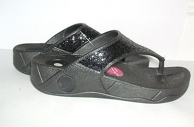 New Ladies Silver Comfort Plus Stoned Sliders Slides Sandals Size 3 4 5 6 7 8