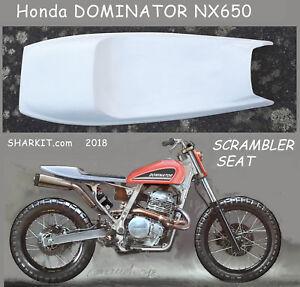 Honda-NX-650-Dominator-Sharkit-Scrambler-Seat