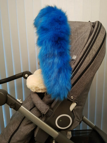 Pram Hood Fur Trim Fits All Hoods Over 50 Colours