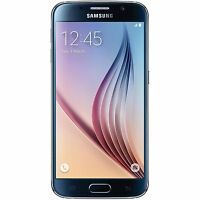 Unlocked T-mobile Samsung Galaxy S6 Sm-g920t 128gb Black Smartphone