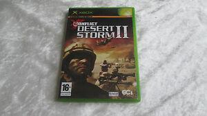 XBOX-Conflict-Desert-Storm-2-II-jeu-video-complet-en-boite-Francais-PAL
