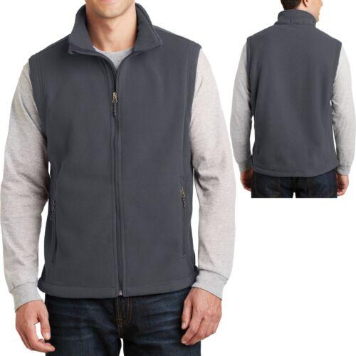 Mens CoreValue Vest Soft Polar Fleece Sizes S 4XL 5XL 3XL 6XL L M 2XL XL