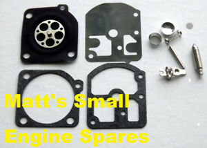 Details about Carburetor Rebuild kit Suits Zama C1S Carbs Stihl 009  010,011,011AV,012
