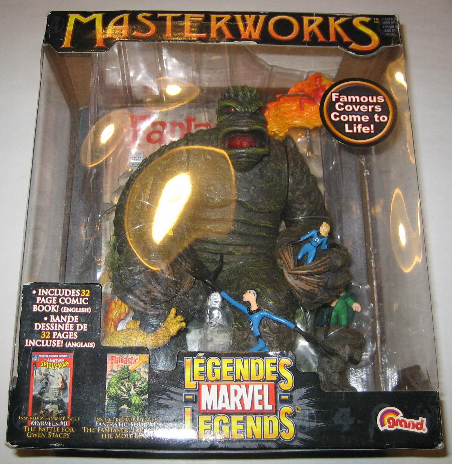 Marvel - legenden - maulwurf - mann und die fantastischen vier abbildung