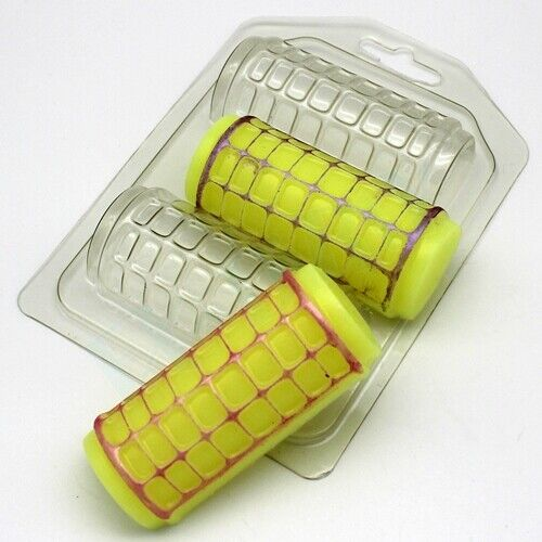 """/""""Hair curlers/"""" plastic soap mold soap making mold mould"""
