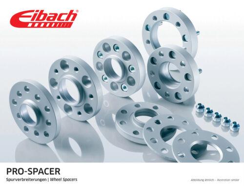 Eibach 20mm Perno en Hubcentric Rueda Espaciadores Honda Civic EP3 Type-R 99-06