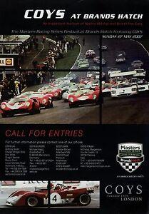 Coys-DINA4-Poster-Brands-Hatch-27-5-07-2007-Masters-Racing-Series-Rennsport
