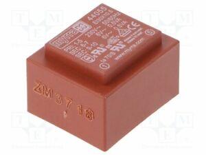Transformador-Revestido-1VA-230VAC-6V-6V-83mA-83mA-44055-Pcb-Transformatoren