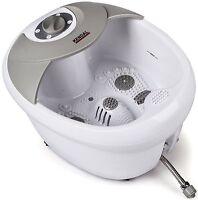 Foot Spa Bath Massager Heat Vibration Infrared Feet Massage Pedicure Therapy Tub