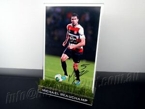 Signed-MICHAEL-BEAUCHAMP-Photo-amp-Frame-PROOF-COA-Wanderers-2018-Jersey