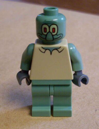 Squidward Figur Figuren Schwammkopf Sponge Bob grün olive Neu Lego SpongeBob