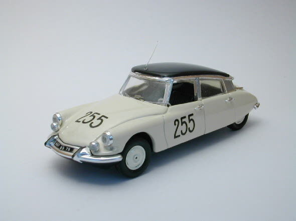 Citroen ds 19 mille miglia 1957 1 43 model rio4164 rio